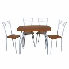 """Обеденная группа """"Медуза"""" стол+4 стула"""